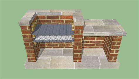 build  barbeque pit brick bbq diy outdoor