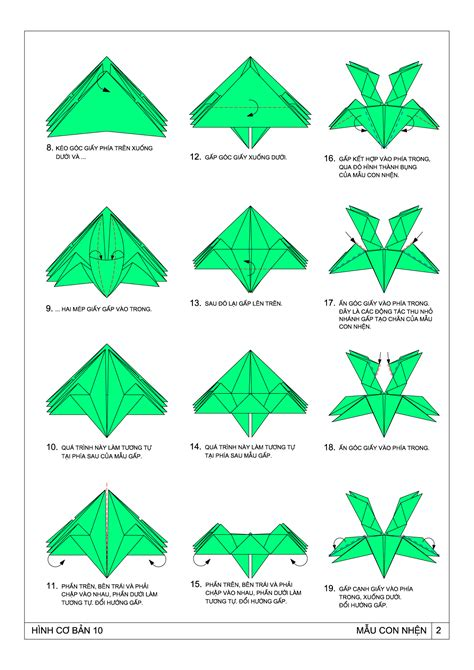 Origami Resource - origami spider by ts pham dinh tuyen