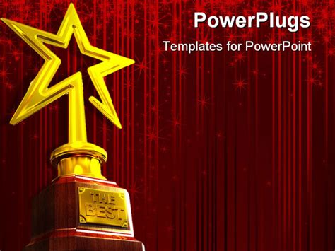 powerpoint templates for awards reersransomon gold star award template
