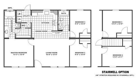 clayton double wide mobile homes floor plans modern modular home single wide mobile home floor plans clayton floor matttroy