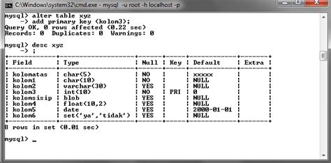 membuat database mysql menggunakan command prompt mysql dengan menggunakan command prompt cmd rivai namikaze