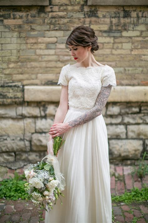 brides with tattoos 25 gorgeous brides with tattoos 2015