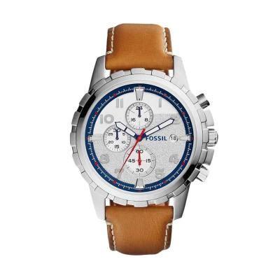 Fossil Dean Fs4788 Jam Tangan Pria harga fossil dean chronograph fs5130 silver jam tangan