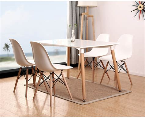 Modern Design Dining Table Ciara Modern Design Wooden Dining Table Mister Fox Homewares