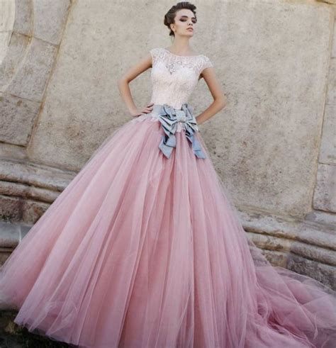 Wedding Dresses Pink by Pink Wedding Dresses