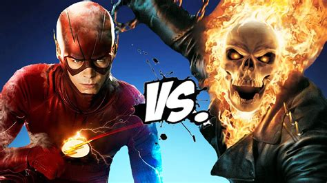 Zoom Ghost Rider Premiere by Ghost Rider Vs The Flash Epic Battle