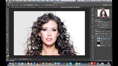 photoshop background eraser recorte de cabelo usando background eraser tool