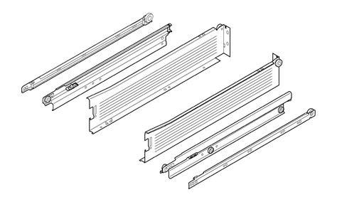 Blum Drawer Slides Specs by Blum 330m400pc15 W White Metabox 16 Inch Extension