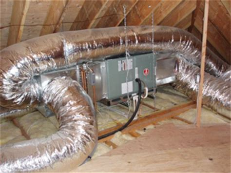 Attic Mounted Air Conditioning System - i work in hvac and got a call that an a c wasnt working