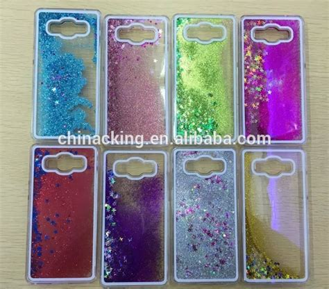 Water Gliter Samsung J5 Prime luxury bling glitter flowing water liquid