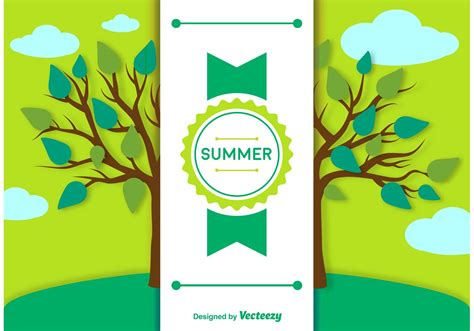 summer template summer background and label template free