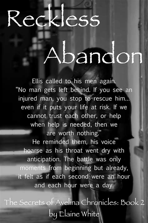 Quotes about Reckless Abandon (47 quotes)