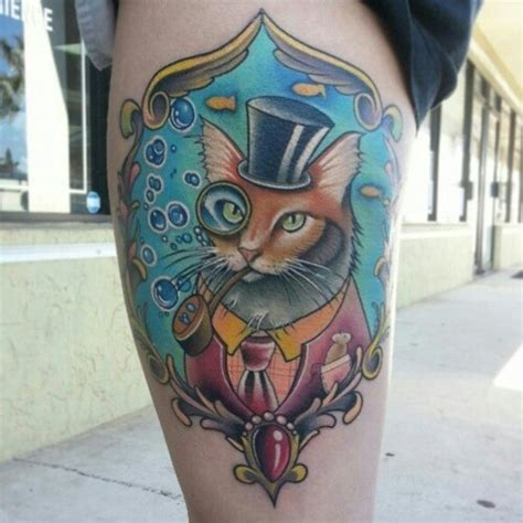 tattoo cat smoking 93 best images about gentleman with tattoos on pinterest