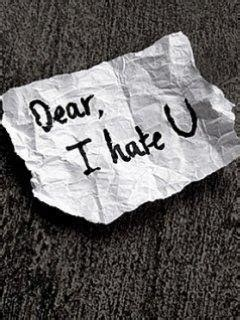 sms i hate u dear i hate u feeling quotes english sms quotes