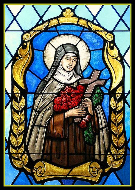 imagenes religiosas miniaturas saint therese of lisieux vidrieras religiosas y