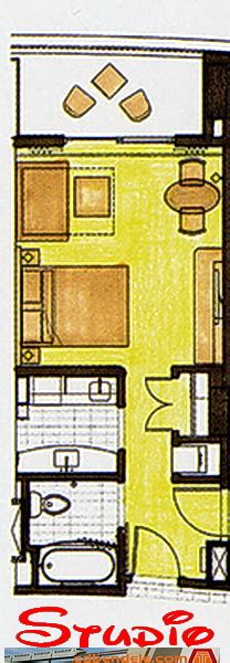 bay lake tower deluxe studio floor plan bay lake tower floorplan
