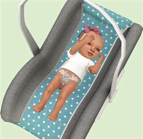 my infant seat mod the sims sitting in my infant seat