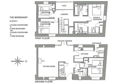 cake shop floor plan work shop sleeps 8 rookery farm holidays north norfolk