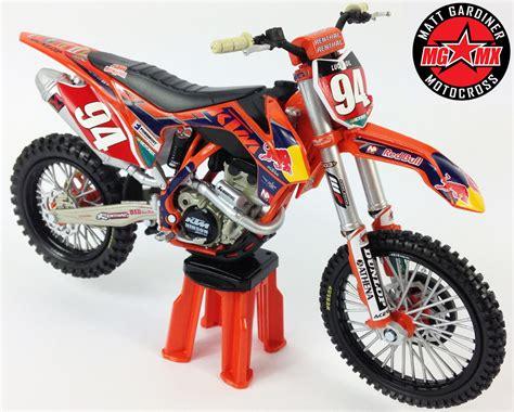 toy motocross bikes ken roczen redbull ktm sxf250 1 12 die cast motocross mx