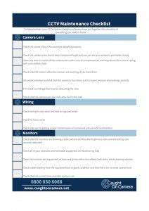cctv checklist template gallery templates design ideas