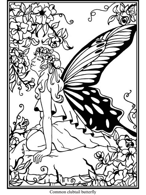 mimi s pixie corner fairies free coloring pages