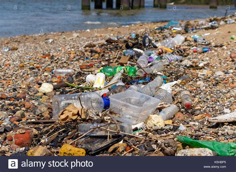 thames river london ontario pollution pollution river rubbish stock photos pollution river