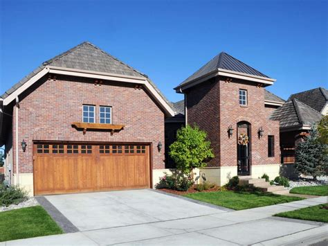 brick garages designs top 6 exterior siding options hgtv