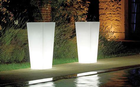 illuminazioni da esterno lada da esterno quot vaso conico quadro quot outlet mobile