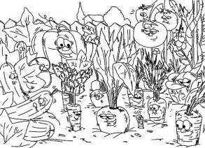 coloring page vegetable garden free coloring pages of gard