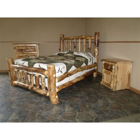 Aspen Log Bedroom Furniture Aspen Log Furniture
