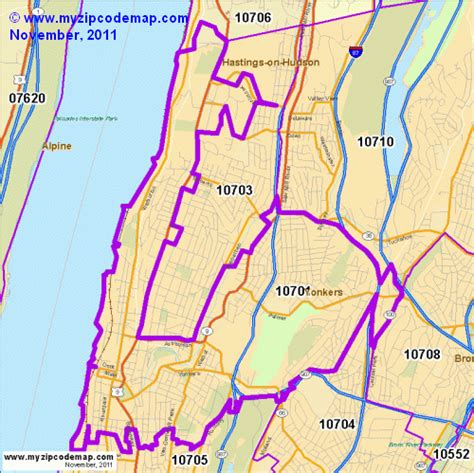 Zip Code Map Yonkers Ny   zip code map of 10701 demographic profile residential
