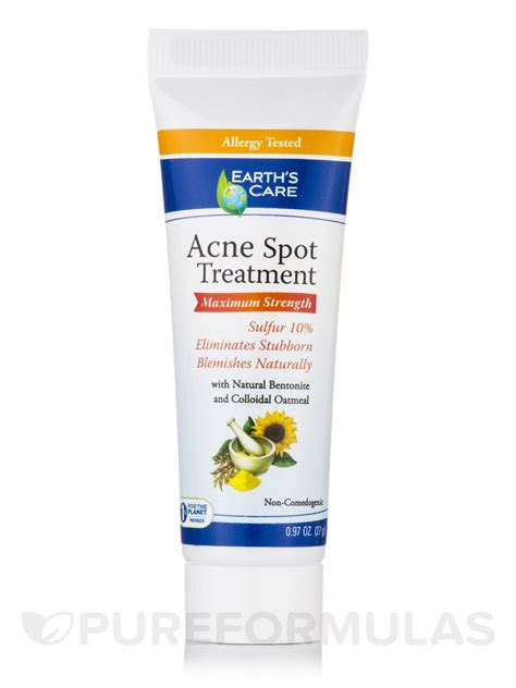 spot remedy acne spot treatment 10 sulfur 0 97 oz 27 grams