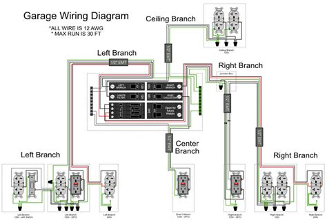 garage outlet wiring diagram wiring diagram with description