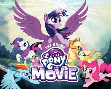 film mlp 4 the art of my little pony the movie my little pony