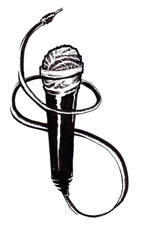 microphone tattoo stencil microphone tattoo stencil www imgkid com the image kid
