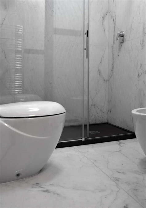 bagni in ardesia bagno con doccia in ardesia calacatta marmo