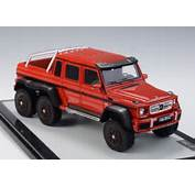 Mercedes Benz G63 AMG W463 6x6 Red Model Car By GLM In 143 Scale