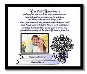 Amazon com 2nd anniversary gift for husband wife boyfriend or