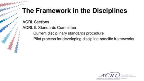 acrl instruction section acrl framework update session ala annual june 28 2015