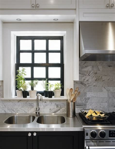 kitchen window trim two tone kitchen cabinet ideas ugly duckling house