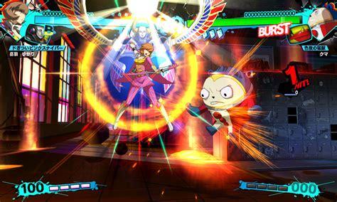 persona 4 arena persona 4 arena ultimax screenshots