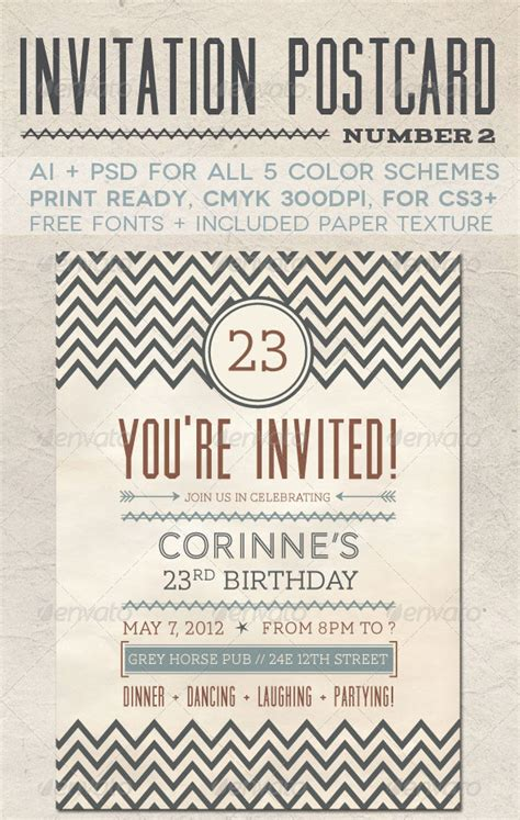 free indesign invitation templates indesign invitation templates invitation template