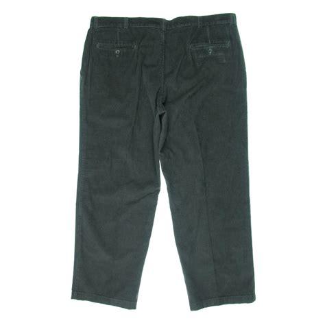 mens comfort waist pants haggar 1573 mens comfort waist classic fit corduroy pants