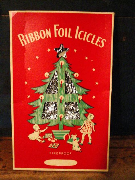vintage christmas tree icicles vintage christmas garland