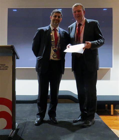 Our Docs And Win Awards Prof Mauro Farella And Dr Jonathan Broadbent Win Awards At
