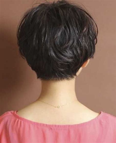 short haircuts for women over 60 back of hair back view of short hairstyles for women over 60 short