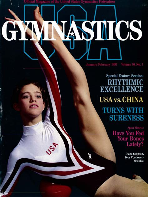 Bc Floor Plans issuu usa gymnastics january february 1987 by usa