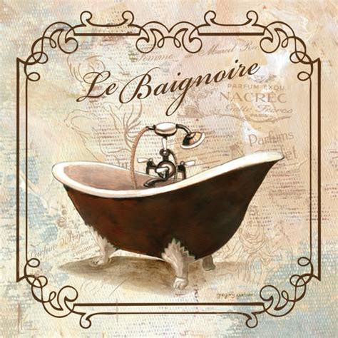 vintage bathroom prints vintage tub prints by gregory gorham at allposters com