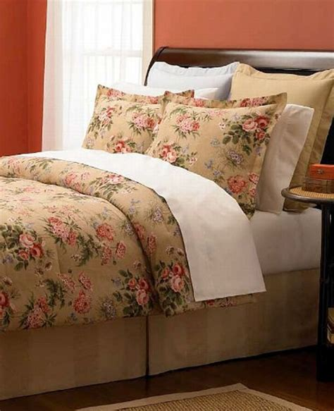 martha stewart bed in a bag martha stewart mountain garden queen 6 piece comforter bed