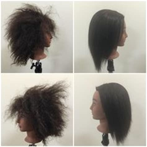 relaxed hair before and after relaxer before and after www griseldadesantos com